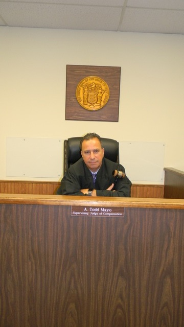 A. TODD MAYO, FORMER CHIEF MUNICIPAL COURT JUDGE & FORMER SUPERVISING JUDGE OF WORKER'S COMPENSATION